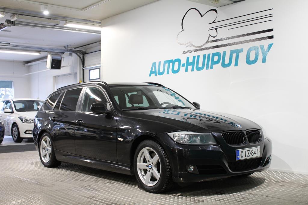 BMW 320, Facelift #Hyvät varusteet #Siistikuntoinen #Navi #Nahkasisusta