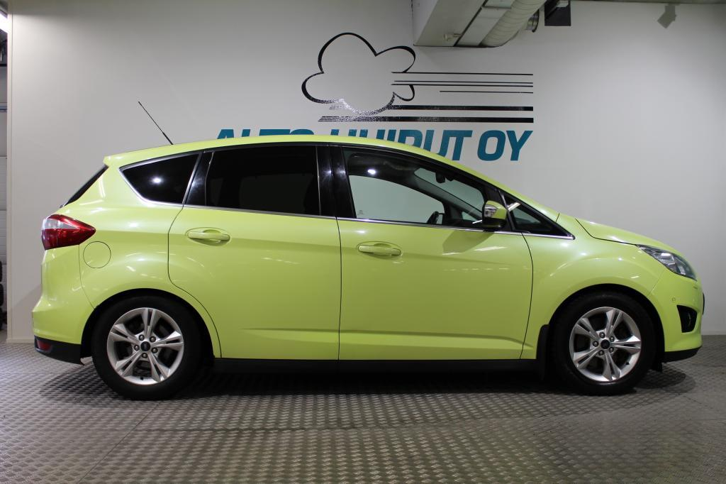 Ford C-Max, 2,0 TDCi 140hv PowerShift autom. Titanium 5-ov.#Tyylikäs! #Webasto,Panorama! #Muotiväri