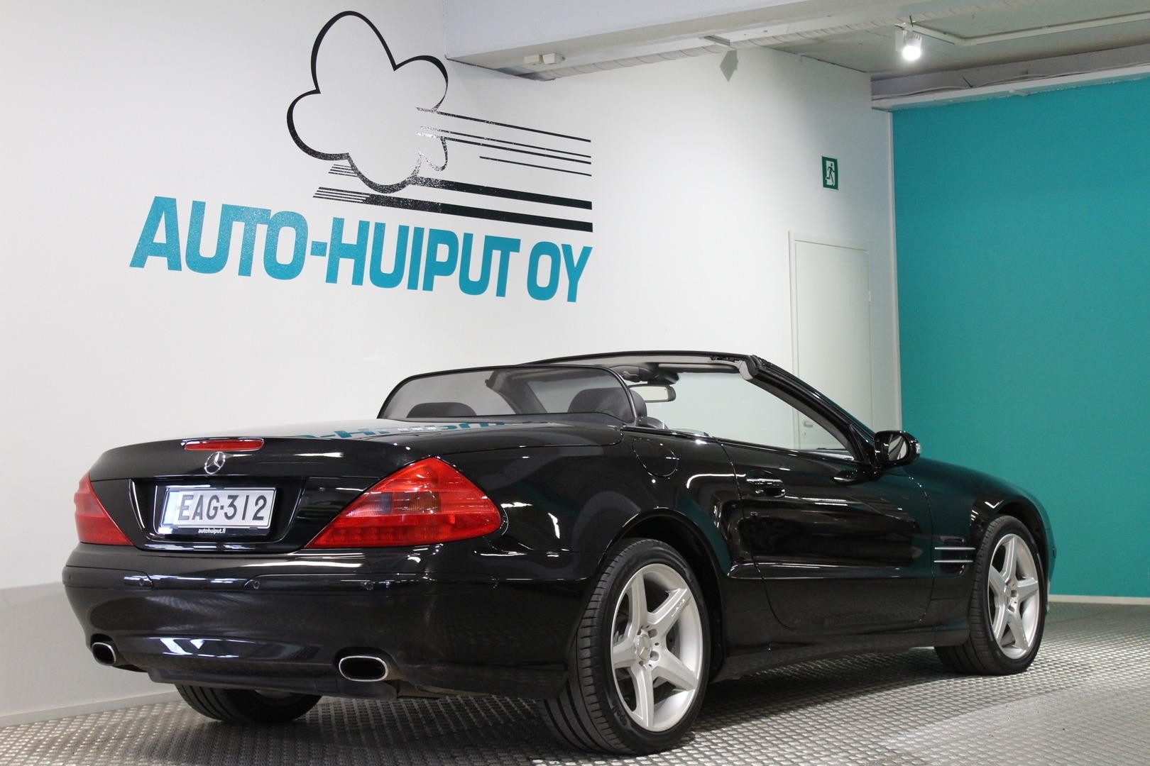 Mercedes-Benz SL, 350 V6 ROADSTER #Huippuhieno  #Huippuvarusteet #Bose #Räyhee