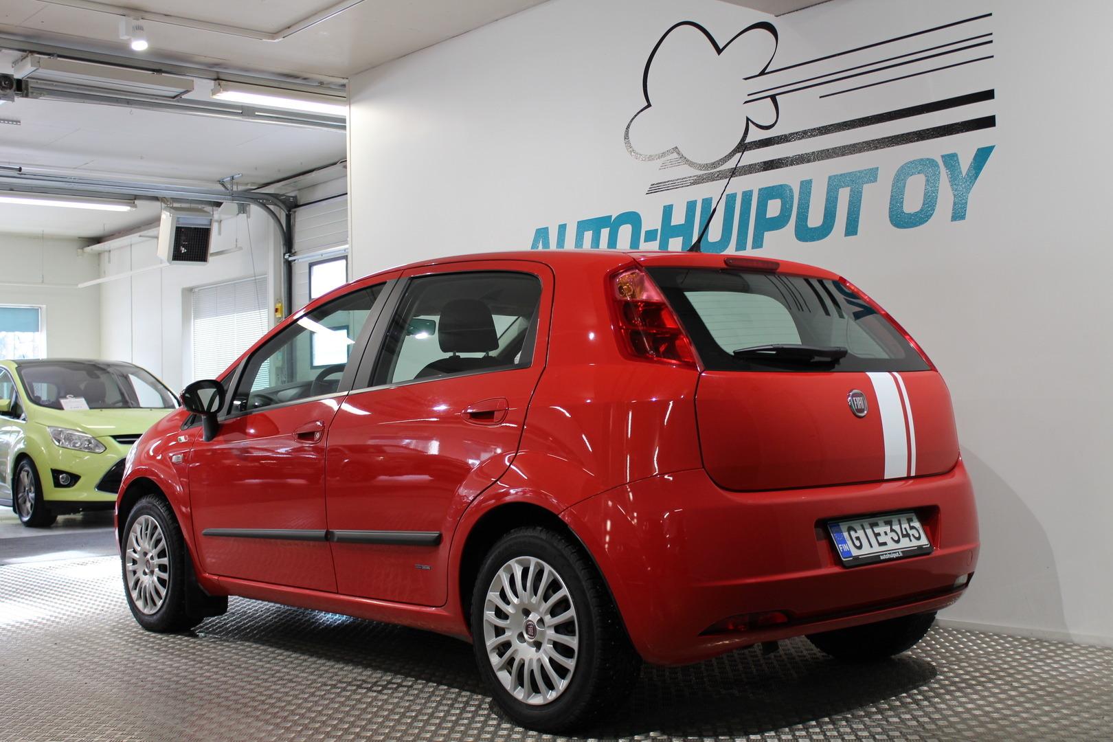 Fiat Grande Punto, 1,4 77 Milano #Hyvin pidetty #Tyylikäs #Näppärä