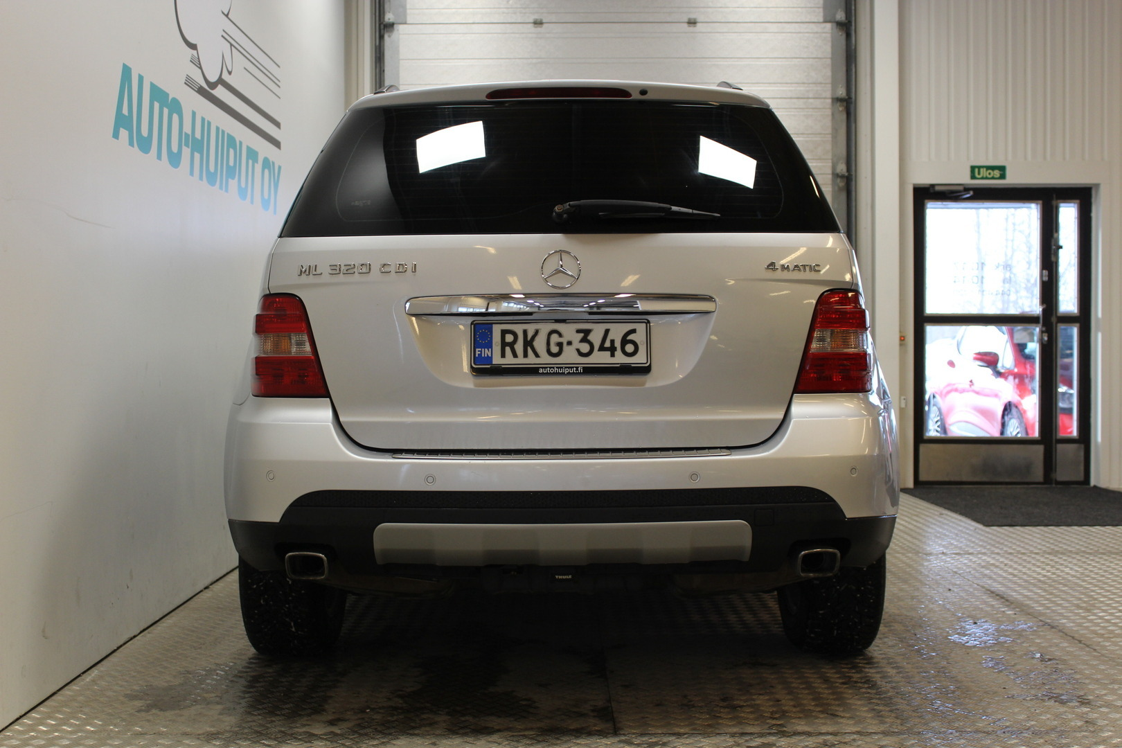 Mercedes-Benz ML, 320 CDI 4MATIC #Suomi-auto #Hieno