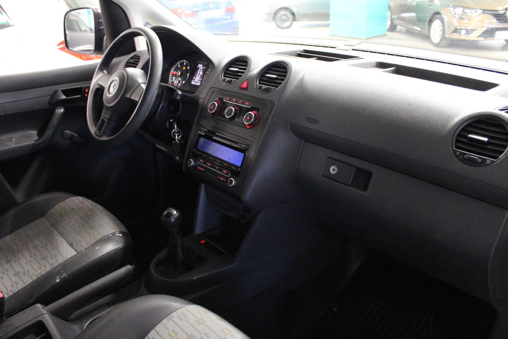 Volkswagen Caddy Maxi, 1.6TDI #Webasto kaukosäädöllä #Sis alv #Vakkari