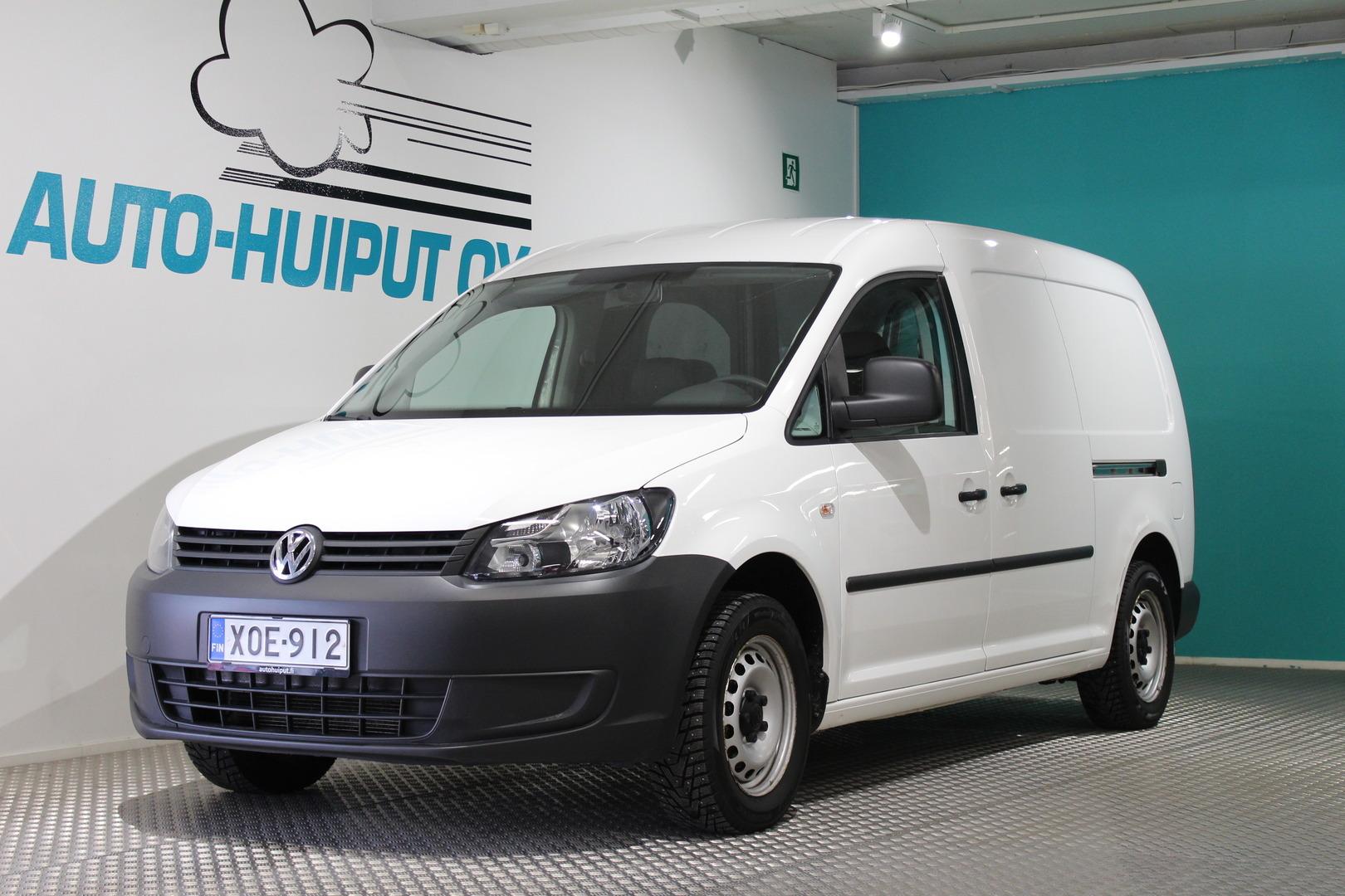 Volkswagen Caddy Maxi, 1,6 TDI 75kW BlueMotion #Webasto #Sis ALV #Vakionopeudensäädin #Ilmastointi