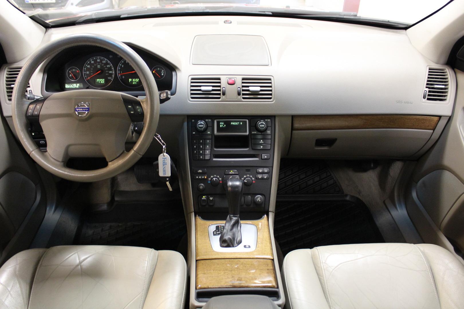Volvo XC90, 2,5T AWD Summum #7-Paikkainen #Nahat**Juuri tullut**
