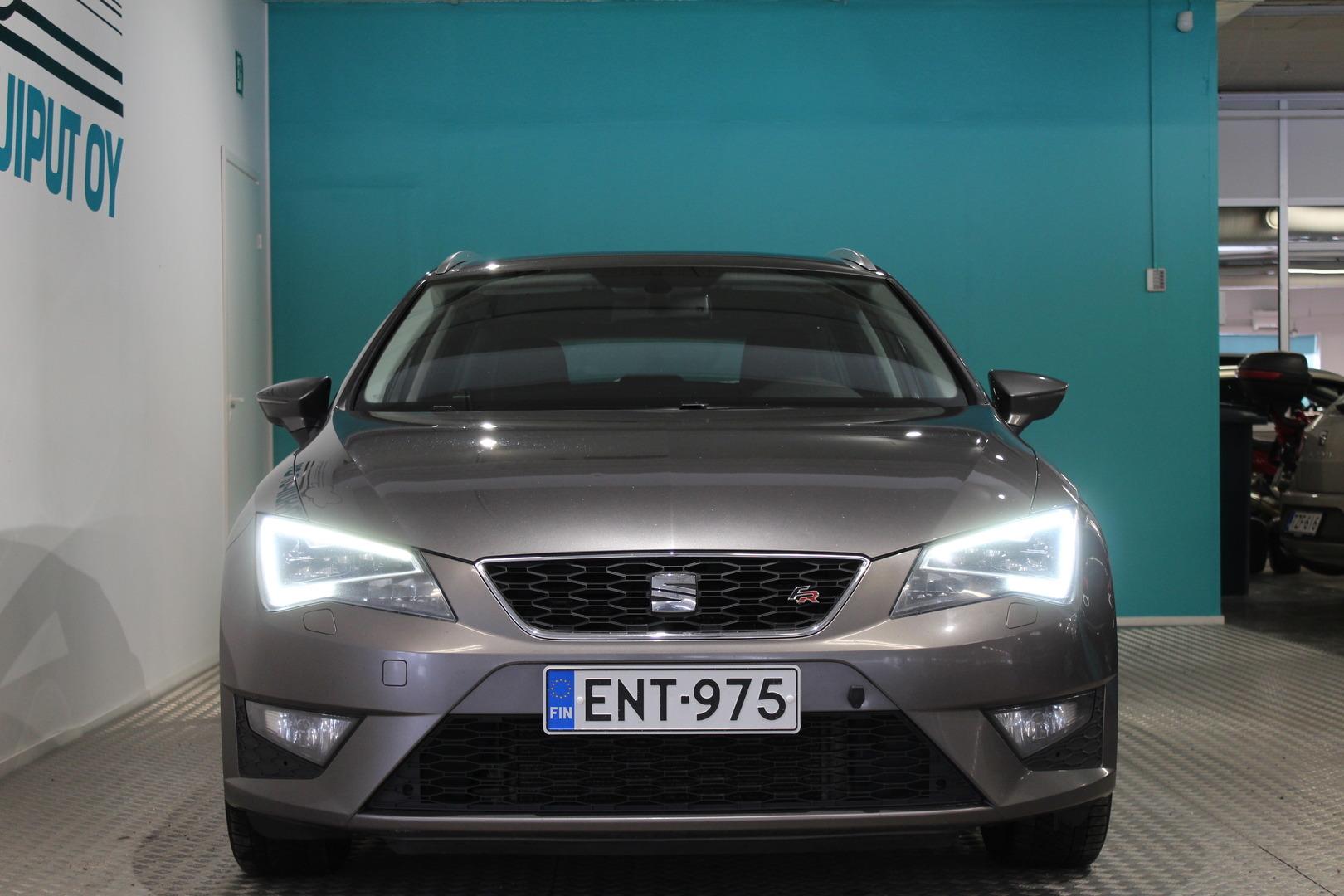 Seat Leon ST, 2,0 TDI 150 4Drive FR #Huippusiisti #1.Omisteinen #Juuri huollettu