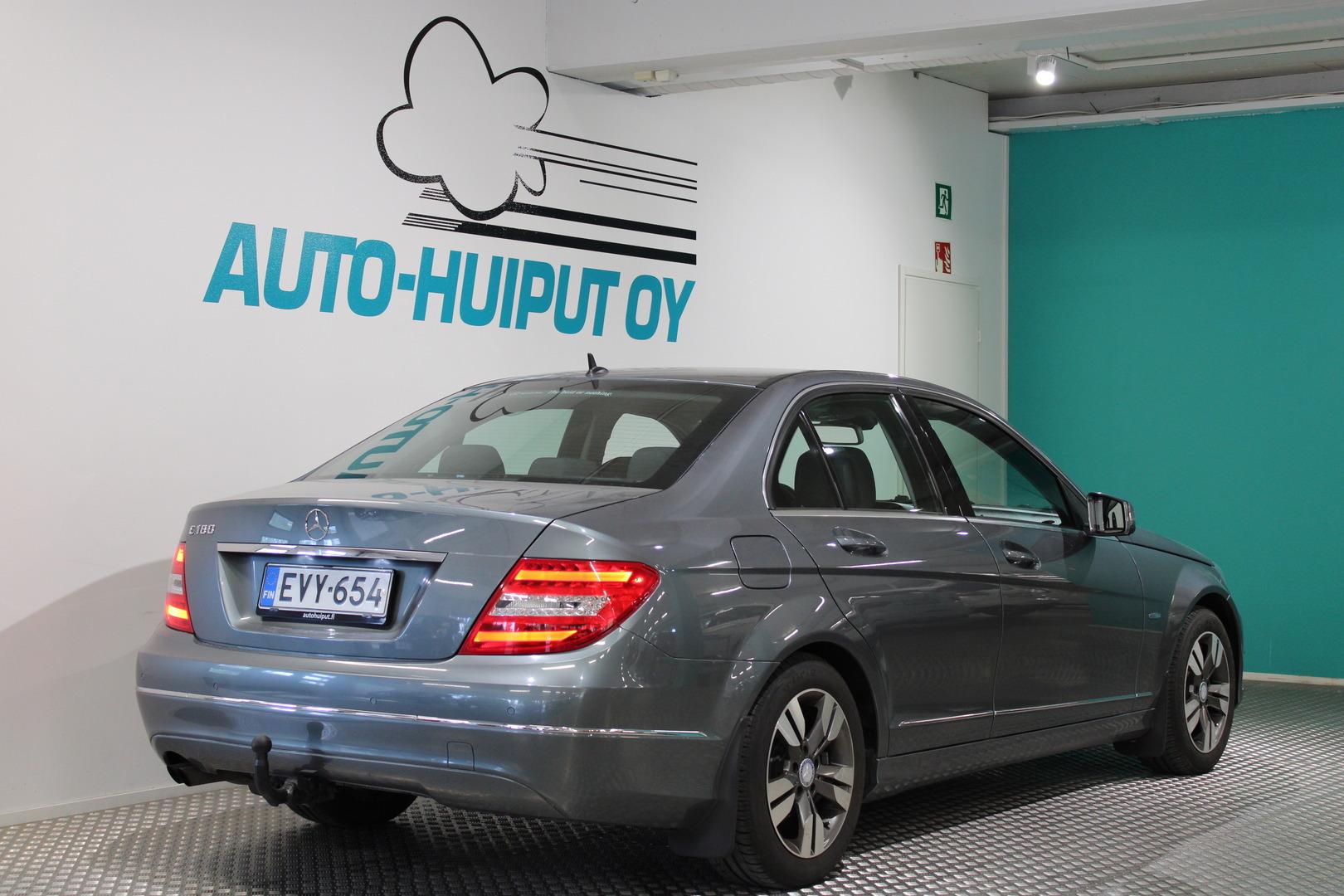 Mercedes-Benz C, 180 BE Premium Business #Huippusiisti #Hyvin pidetty #Xenonit #Suomi-auto