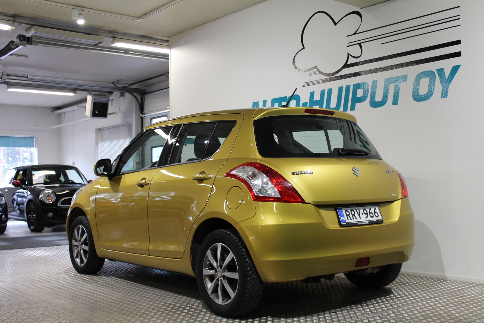 Suzuki Swift, 4WD 1,2 VVT GL 5ov.  #Siistikuntoinen! #Sopivasti!