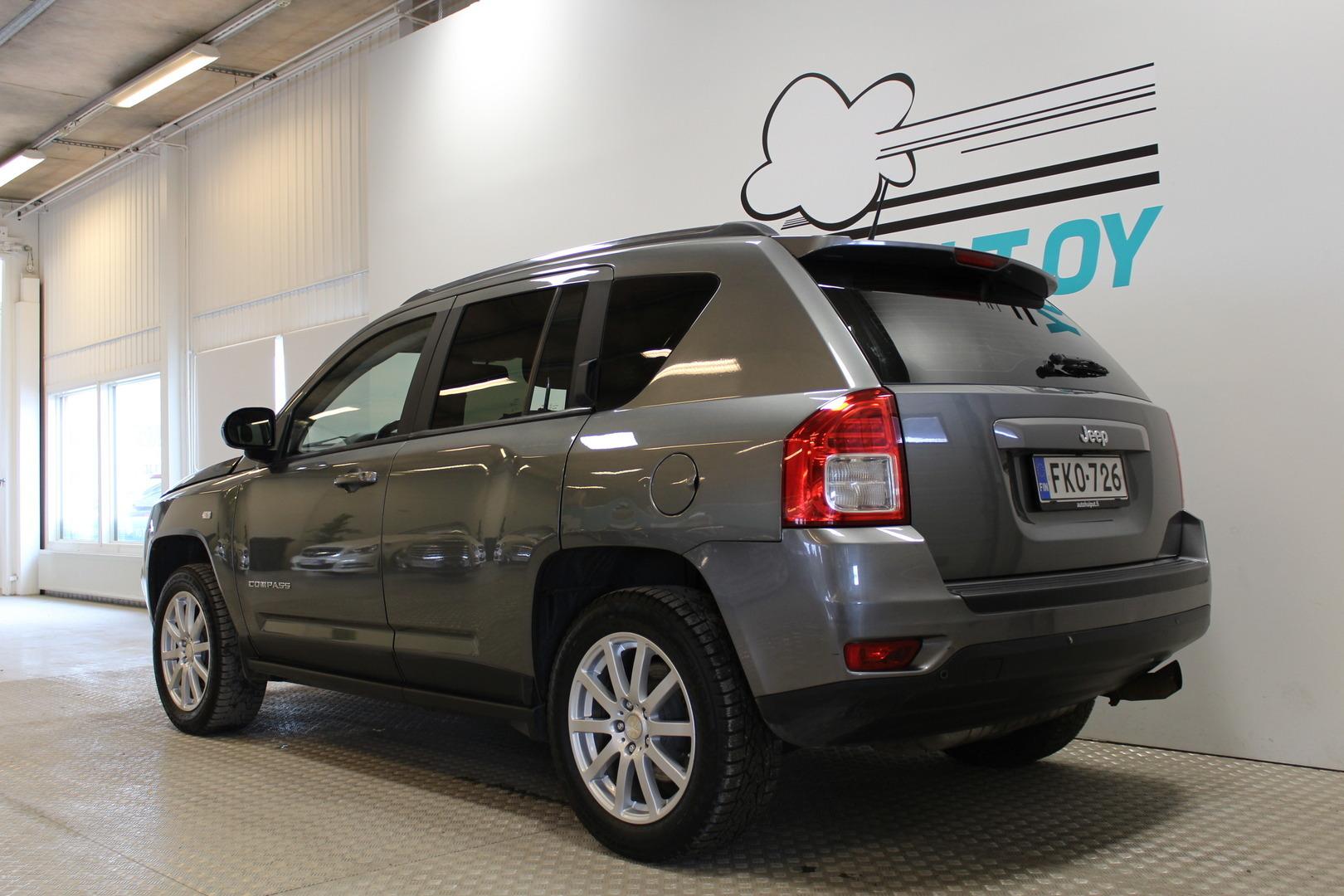 Jeep Compass, 2,0 M5 Sport **Suomi-auto** #Tutkat #Bluetooth