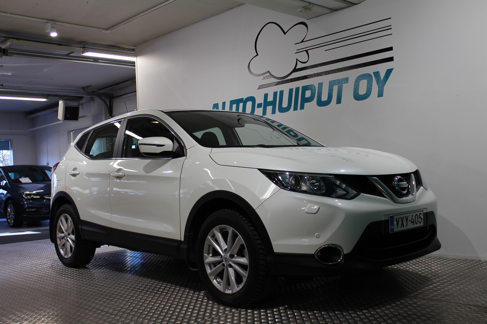 Nissan Qashqai, DIG-T 115 Acenta Safety Pack Connect #1-Omisteinen Suomi-auto! #Siististi pidetty!