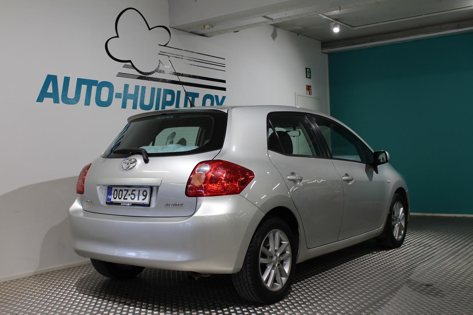Toyota Auris, 1,6 Valvematic Linea Sol #Siistikuntoinen #5-ovinen **Juuri tullut**