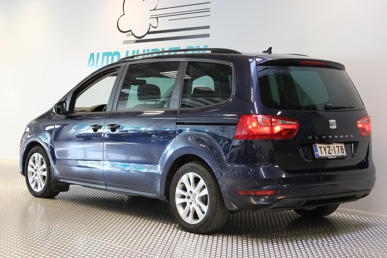 Seat Alhambra, 2,0 TDI 140 Style DSG #Huippuhieno #Navi #Bluetooth **Suomi-Auto**