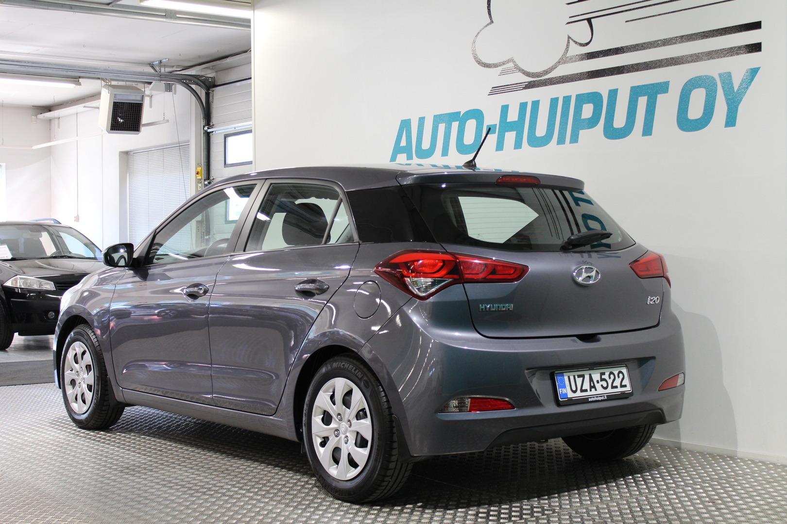 Hyundai i20 5d, 1,2 5MT Classic #Takuuvoimassa 10/ 2020 asti #Huippusiisti #Ratinlämmitin **Juuri tullut**