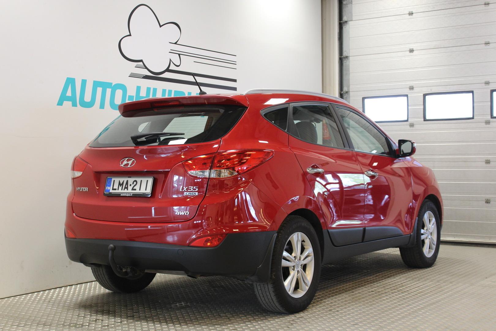 Hyundai ix35, 2,0 CRDI-R 135kW 4wd #2-Omisteinen #Automaatti #Neliveto