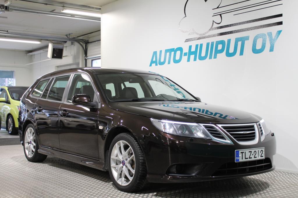 Saab 9-3, 1,9 TTiD Linear #Sähköpenkit #Hyvällä historialla #Suomi-auto